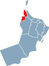 Oman governorates alburaimi